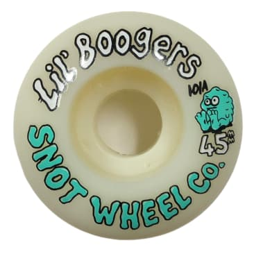 Snot Wheel Co Lil Boogers 45MM 101A - Glow In The Dark