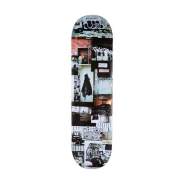 GX1000 Graffiti Document 2 Skateboard Deck - 8.5""