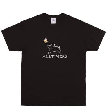 Alltimers Claire Pup T-Shirt - Black