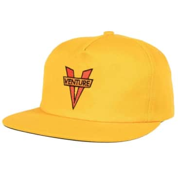 Venture Adjustable Heritage Snapback Hat (Gold)