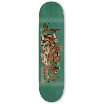 Traffic Skateboards City Blocks Industrial Skateboard Deck - 8.5""