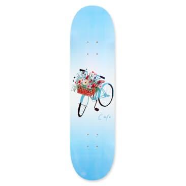 """Skateboard Cafe Flower Basket Skateboard Deck Blue - 8"""""""