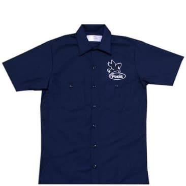 Peels NYC Gas Co S/S Shirt - Navy