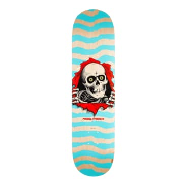 Powell Ripper Natural Turquoise 242 Deck 8.0""