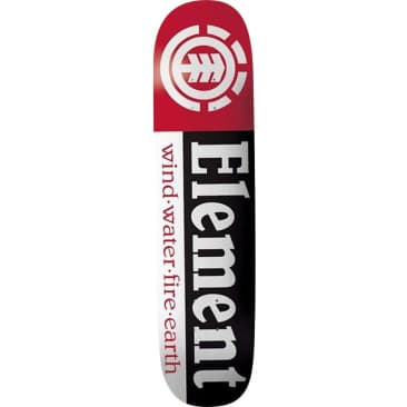Element Skateboards Section Skateboard Deck - 8.25