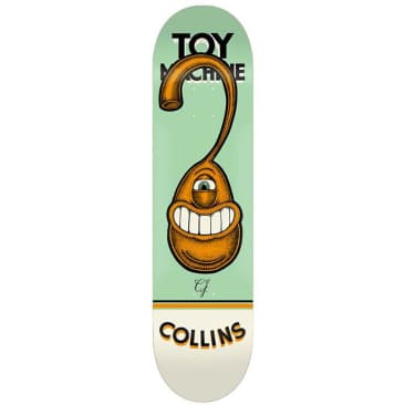 Toy Machine CJ Pen N Ink Skateboard Deck 8.25""