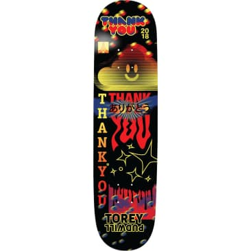 Thank You Torey Pudwill Fly Deck 8.0