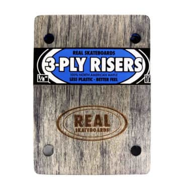 Real 3-Ply Wood Riser's 1/8