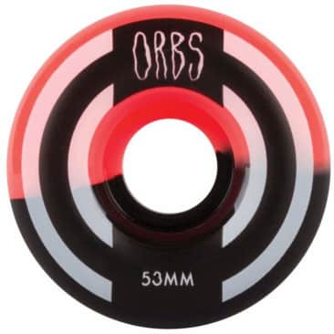 Welcome Skateboards - Welcome Skateboards Orbs Apparitions Splits Coral & Black Wheels | 53mm