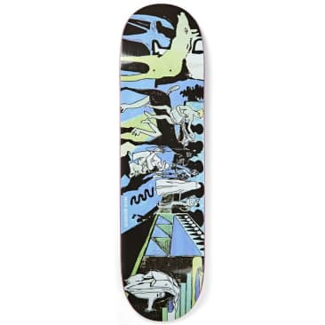 Polar Skate Co. Nick Boserio The Riders Skateboard Deck - 8.625""