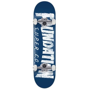 Foundation Thrasher Skateboard Complete 8.0""