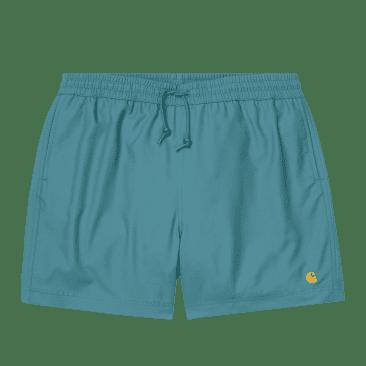 Carhartt WIP Chase Swim Trunks - Hydro / Gold