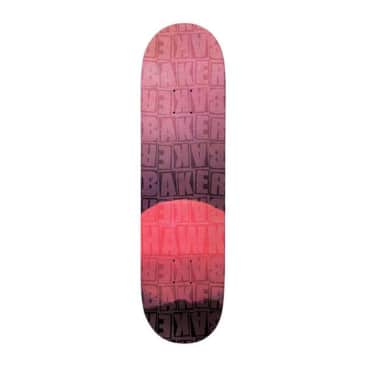 "Baker Hawk Pile Red B2 8.125"" Deck"