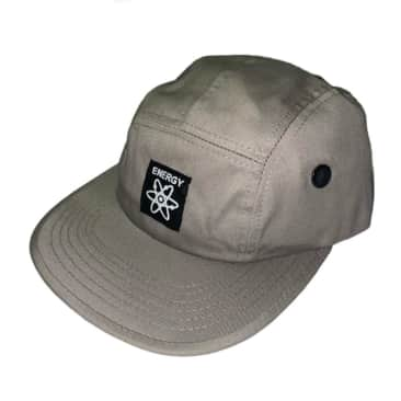 Energy Skate Shop OG Logo 5-Panel Hat (Grey)