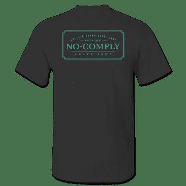 No-Comply Locally Grown Shirt - Black Emerald