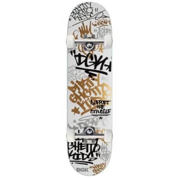 DGK Tag Complete (White/Gold)