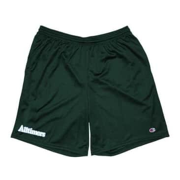 Alltimers Broadway Embroidered Shorts - Dark Green