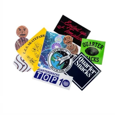 Quartersnacks sticker pack