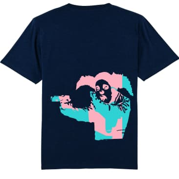 Clown Skateboards Daily Operation Tee Pink (Navy)