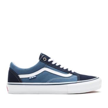 Vans Skate Old Skool Shoes - Navy / White