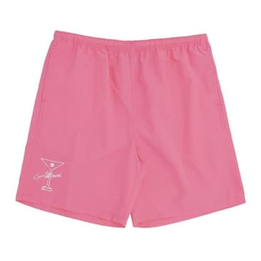 Alltimers League Player Nylon Shorts - Pink
