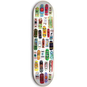 Skate Mental Koston Collage Skateboard Deck 8.25""