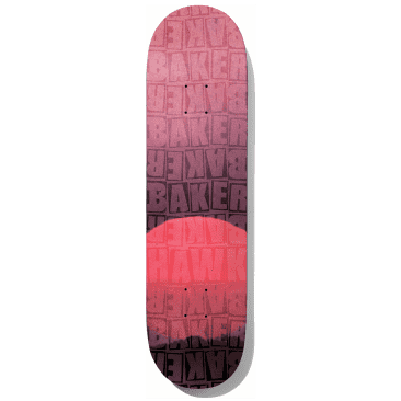 Baker Riley Piled Red B2 Skateboard Deck - 8.125""