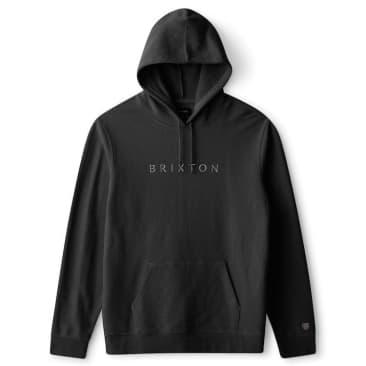 Brixton Alpha Line Hoody Black