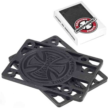 Independent Truck Co. Riser Pads - Black