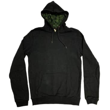 Pullover Hoodie w/ Canna Lined Hood