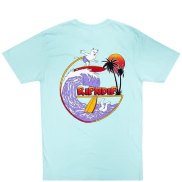 Ripndip Off My Wave T-Shirt - Aqua