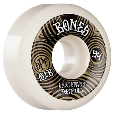 Bones Ripples SPF Wheels 81B P5 Sidecut 54mm