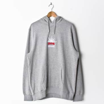 Lovenskate LUST4CURBS Hood Heather Grey (With Back Print)