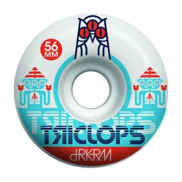 Darkroom Skateboards Triclops Spinner Wheels 55mm 99a