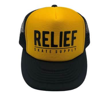 RELIEF MESH TRUCKER GOLD/BLACK