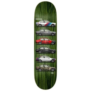 Real Ishod Customs Twin Tail Deck 8.25