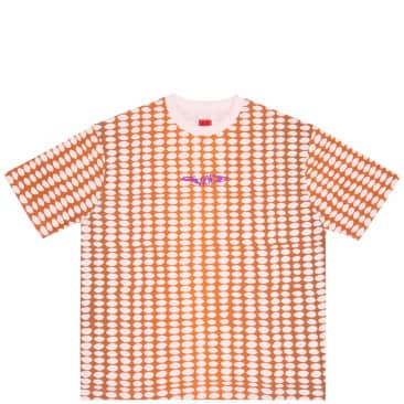 WKND Bubble T-Shirt - Pink / Brown