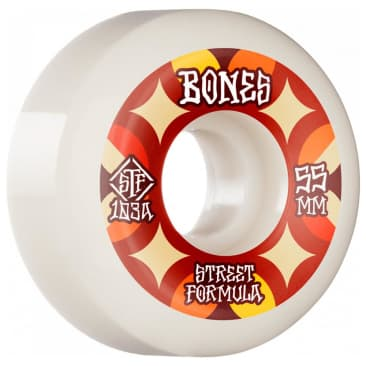 Bones Retros STF Wheels V5 Sidecut 103A 55MM