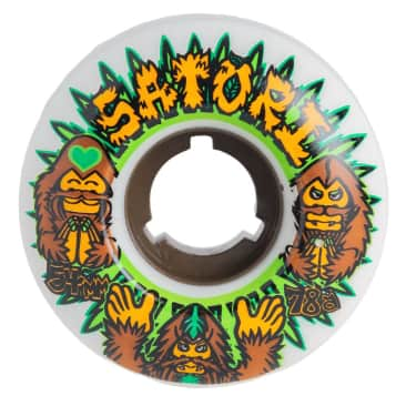 Satori Big Foot Cruiser Wheels 78a 54mm