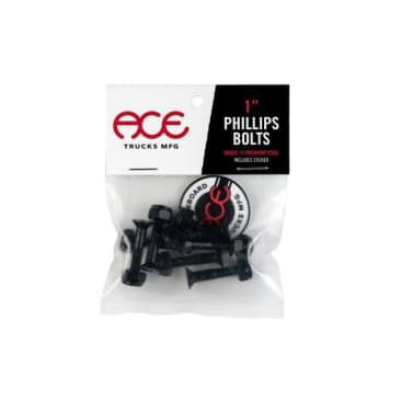 """Ace Bolts 1"""" Philips Head Hardware"""