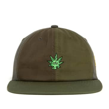 HUF Easy Green Contrast 6 Panel Hat - Green