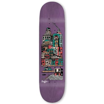 Traffic Community City Blocks Deck (Pink Stain) 8.25""