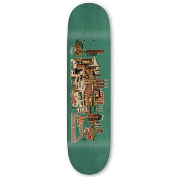 Traffic Industrial City Blocks Deck (Blue Stain) 8.25""