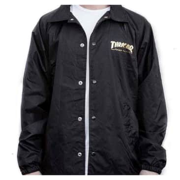 Thrasher Pentagram Coaches Jacket Black