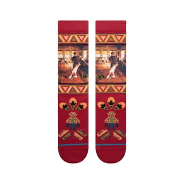 Stance Really Tied Socks - Red