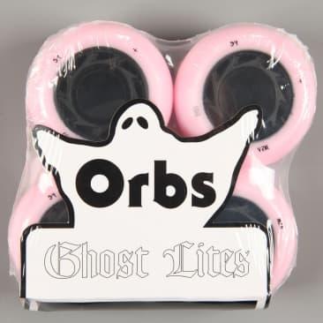 Orbs 'Ghost Lites' 54mm 102A Wheels (Pink / Black)