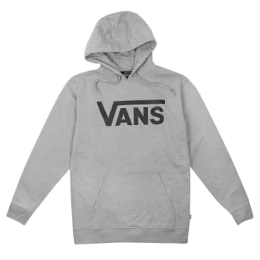 Classic Pullover Hoodie - Cement Heather/Black