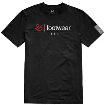 éS Heritage Stack T-Shirt - Black