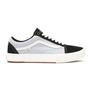 Vans x Federal - Old Skool Pro - Black/Blue Pinstripe