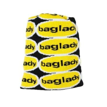 """Baglady """"Wormwood"""" Beanie (yellow/black)"""